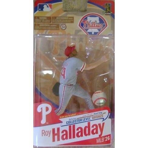 (McFarlane Toys MLB Sports Picks Series 26 Action Figure Roy Halladay (Philadelphia Phillies) Grey Uniform Bronze Collector Level Chase)