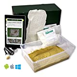 Crime Scene Forensic Science Kit, Footprint Casting Activity Pack