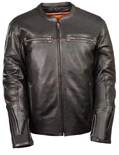 Milwaukee Men's Scooter Jacket (Black, Small)