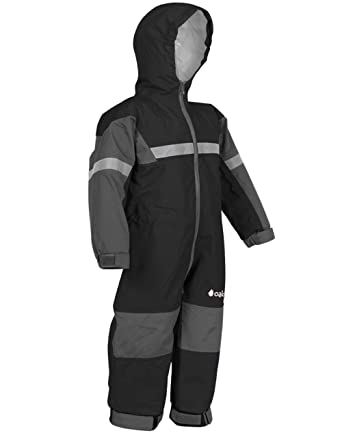 aaa5ebb31325 Amazon.com  OAKI Rain Suit Kids - Toddler Snowsuit - One Piece Rain ...