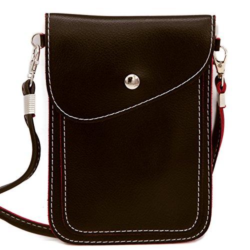 DEEZONE Leather Crossbody Cellphone Shoulder