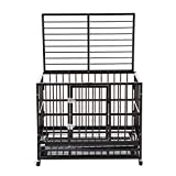 Best Heavy Duty Dog Crates - Silverylake Heavy Duty XL Dog Crate Kennel Playpen Review