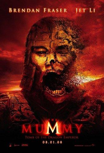 - MUMMY TOMB OF THE DRAGON EMPEROR (2008) Original Movie Poster 27x40 - Dbl-Sided - Brendan Fraser - Jet Li - John Hannah - Maria Bello