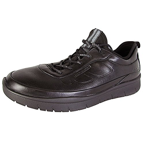 Allrounder by Mephisto Mens Maniko Athletic Sneaker Shoes Black 6pcqDh