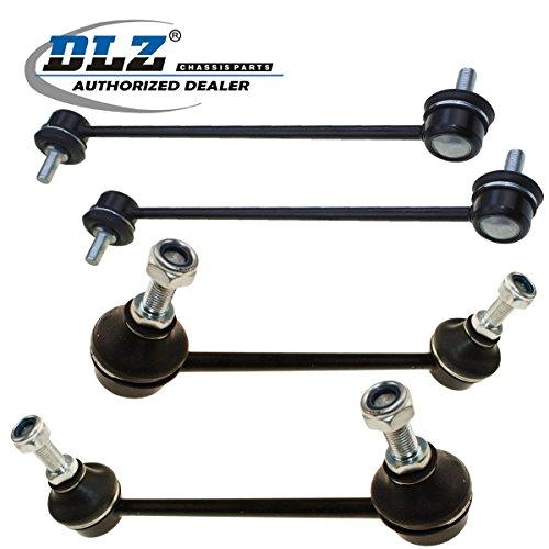 DLZ 4 Pcs Suspension Kit-2 Front 2 Rear Stabilizer / Sway Bar (Rear End Link Kit)