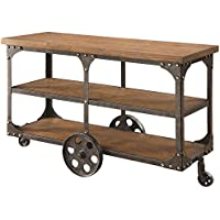 Coaster 701129 Home Furnishings Sofa Table, Rustic Brown