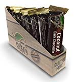 Oskri Coconut Dark Chocolate Bar, 1.9 Ounce Bars (12 Count Box) Gluten-Free Snack Bars for Healthy Lifestyles, No Artificial Flavors, Natural Sweeteners