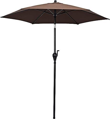 Tangkula 6.6ft Outdoor Patio Umbrella