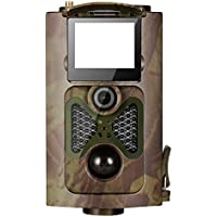 Eshion Wildlife Hunting Game & Trail Camera - 2.0 LCD Screen 16MP 12 Degree 0.5s Trigger Wireless 3G MMS Waterproof,Wide Angle,0.4s Trigger Time with Time Lapse