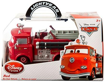 Disney / Pixar CARS Movie Exclusive 1:43 Die Cast Car Red