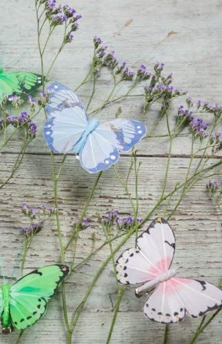 (Journal: Butterflies and Lavender: Lined Journal, 120 Pages, 5.5 x 8.5, Pastel Butterflies, Lavender Stems, Soft Cover, Matte Finish (Butterfly Journals) (Volume 35))