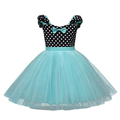 ASHOP Vestidos niña/ Vestido de Encaje Dot Party Vintage/Tutu ...