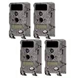 Wildgame Innovations T6B20 6 MP Black Infrared Trail Hunting Game Camera, 4-Pack