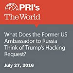 What Does the Former US Ambassador to Russia Think of Trump's Hacking Request? | Shirin Jaafari