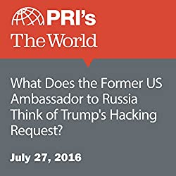 What Does the Former US Ambassador to Russia Think of Trump's Hacking Request?