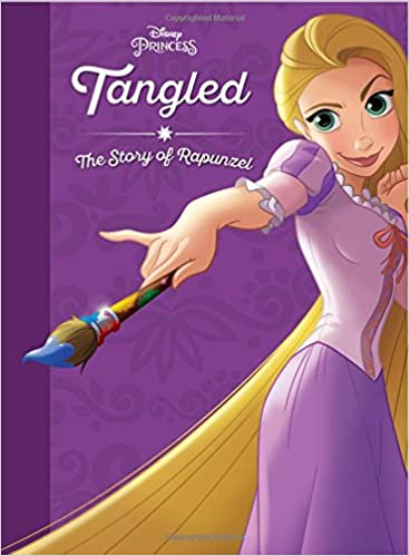 d3c686cb78b Buy Tangled  The Story of Rapunzel (Disney Princess) Book Online at ...