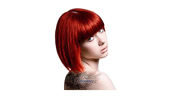 TINTE COLOR FANTASIA STARGAZER SIN AMONIACO PROFESIONAL COLOR FOXY RED 70ML + INCLUYE GUANTES: Amazon.es: Salud y cuidado personal
