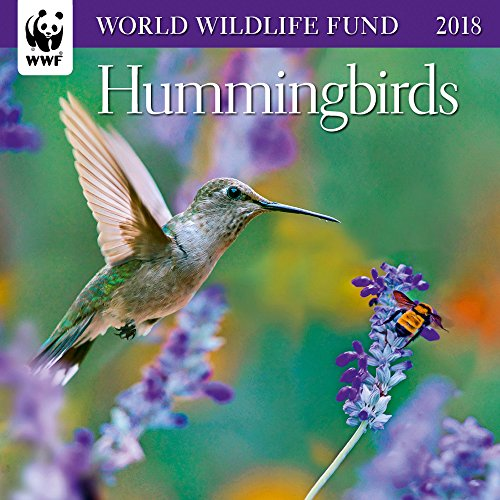 WWF Hummingbirds Mini Wall Calendar 2018
