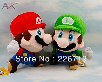 Amazon.com: Al por mayor 6.7 inch Mario y Luigi juguetes de ...