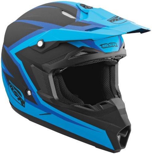 (MSR Helmet Visor for Assault Graphic Helmet - Blue/Black)