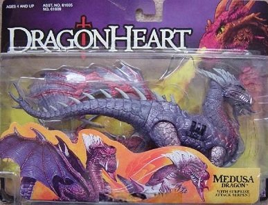 Dragon Heart Medusa Dragon Kenner