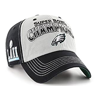 c8b0d35799690e ... cheap philadelphia eagles 47 brand super bowl lii 52 champions mcgraw  adjustable hat black 96c3c fbd83 ...