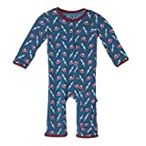 Kickee Pants Footless Coveralls, Twilight Space Travel, 4T