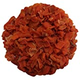 Dried Carrots, Diced 8 oz by Olivenation