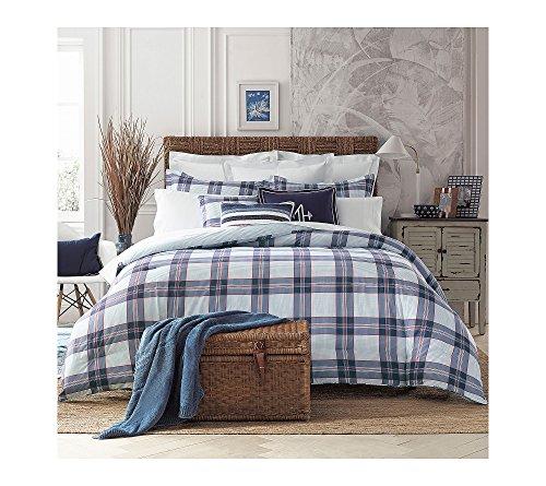 Tommy Hilfiger 22050949TH005 Th Surf Plaid Comforter Set Th Surf Plaid, Blue, (California King Plaid Comforter)