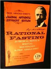 arnold ehret rational fasting pdf