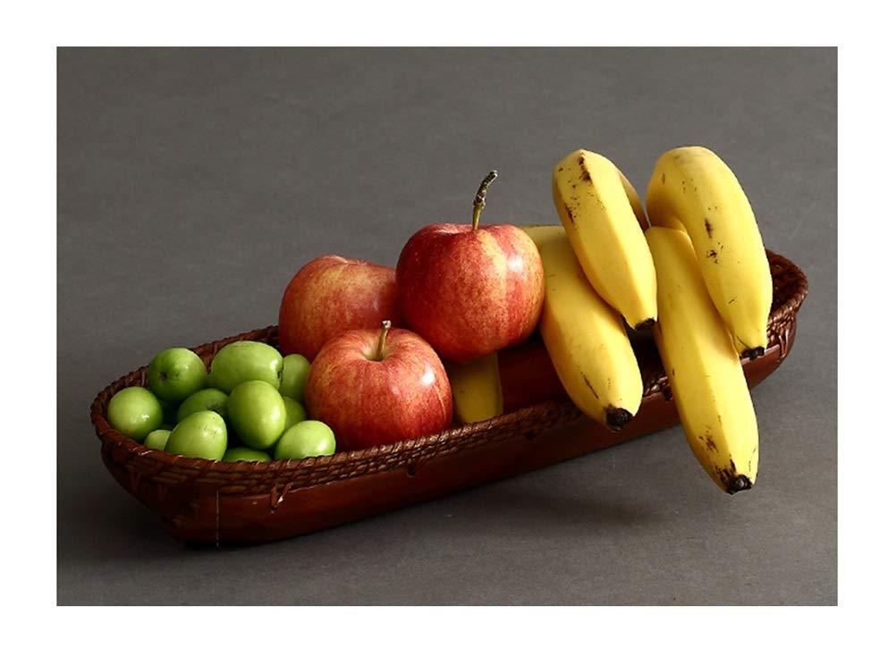 フルーツバスケット- フルーツバスクグリーンフルーツプレートパンフルーツディッシュホームフルーツトレイ手動コポート WPQW   B07RBND3HX