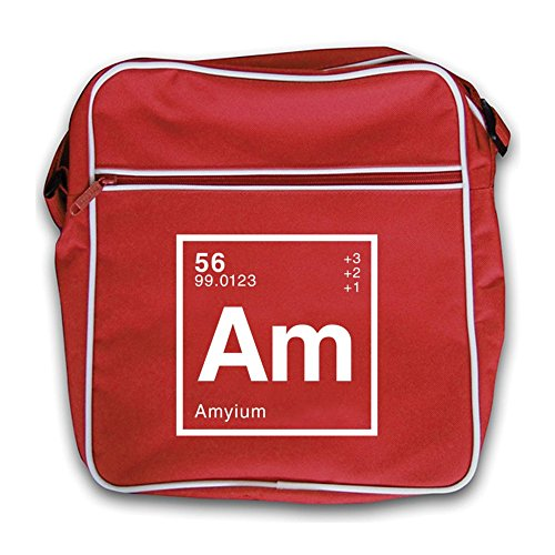 Red Amy Flight Periodic Bag Dressdown Retro Element YFpAASW