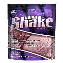Proteína Syntrax Whey Shake 5 Lb (2.2 kg) Sabor Fresa