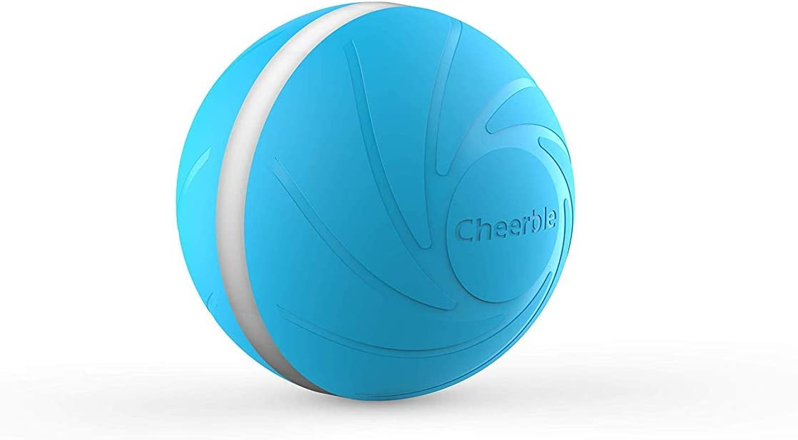 Sikoon Wicked Ball, 100% Automatic and Interactive Ball to Keep Your Dogs/Cats Company All Day, Your Pet's Joy When Home Alone -NOT for Dog CHEWERS
