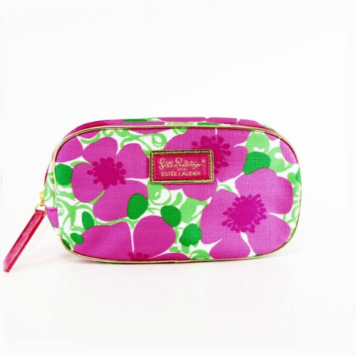 Estee Lauder Lilly Pulitzer Spring Cosmetic Bag 2014 (Estee Lauder Makeup Travel Bag)