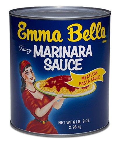 Emma Bella Marinara Sauce Tin, 6 Pound