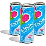 Pricklee Cactus Water, Prickly Pear (Case of 12) Electrolyte + Antioxidant infused Health Drink - Non-Carbonated - Low sugar,