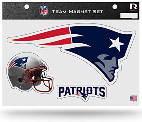 NFL New England Patriots NFL Team Magnet Sheet, Blue, 11