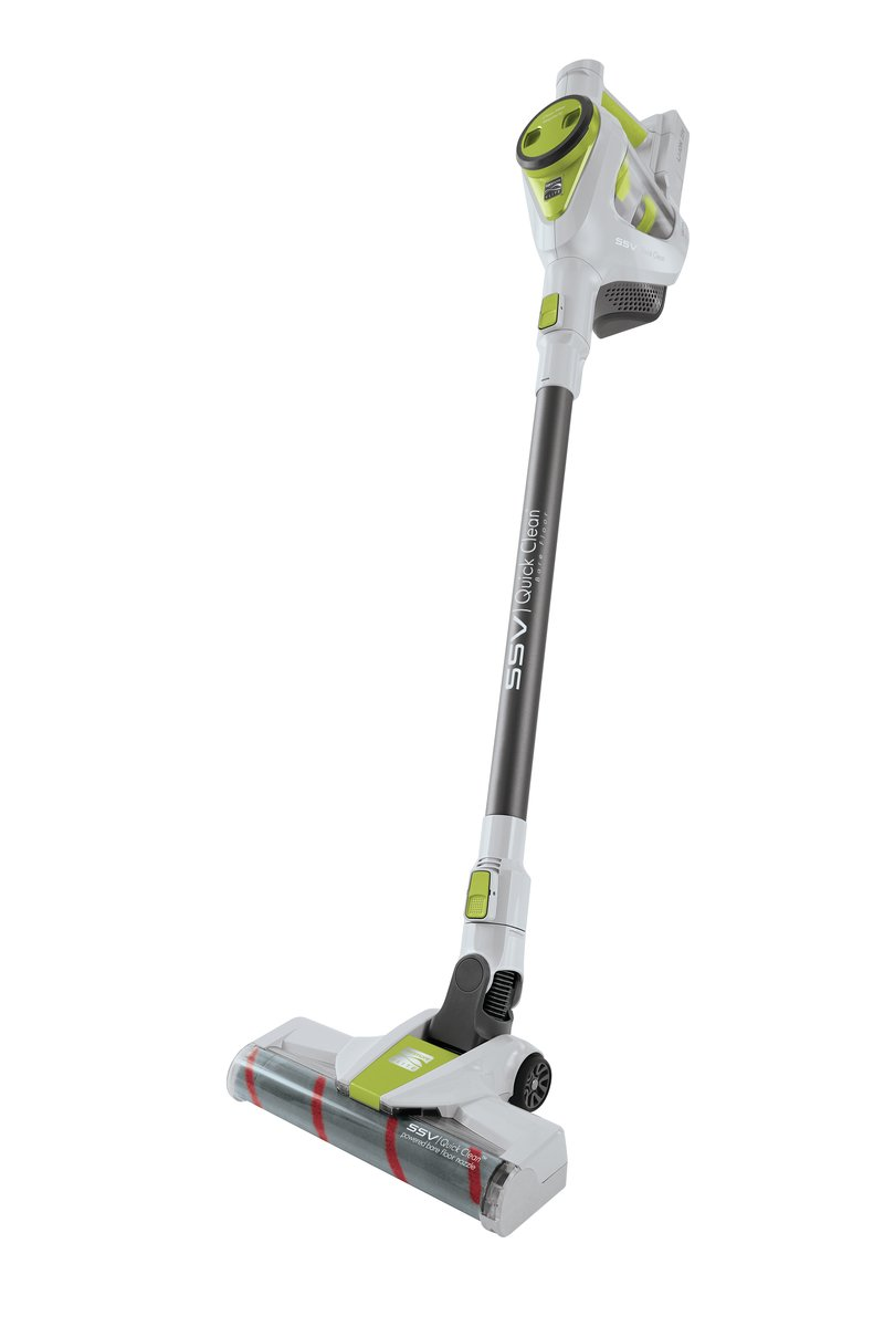 Kenmore Elite 25.0V Lightweight Cordless QuickClean 2-in-1 Stick Vacuum Cleaning Tools, Green