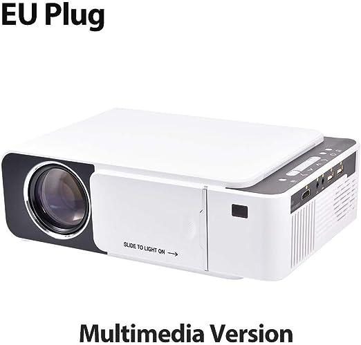 jinclonder 2019 actualizado T5 Mini proyector, portátil de Cine en ...