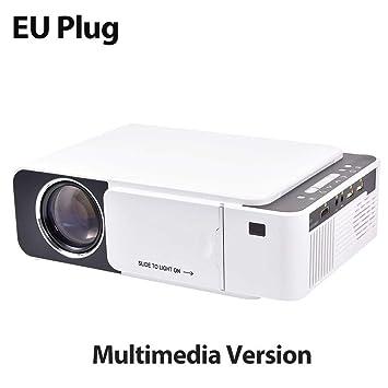 genialkiki Mini Portátil Proyector De Cine En Casa LCD HD 2600 ...