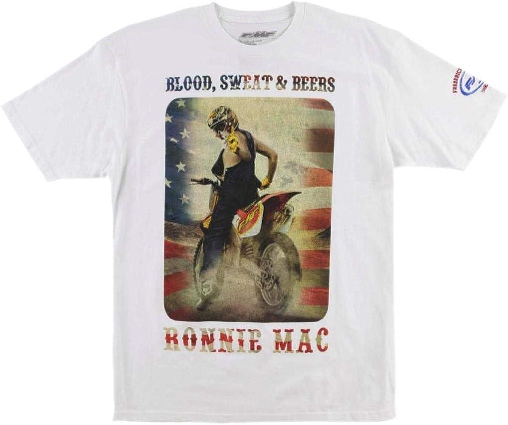 FMF - Camiseta - camisa - para hombre blanco blanco L: Amazon.es: Ropa y accesorios