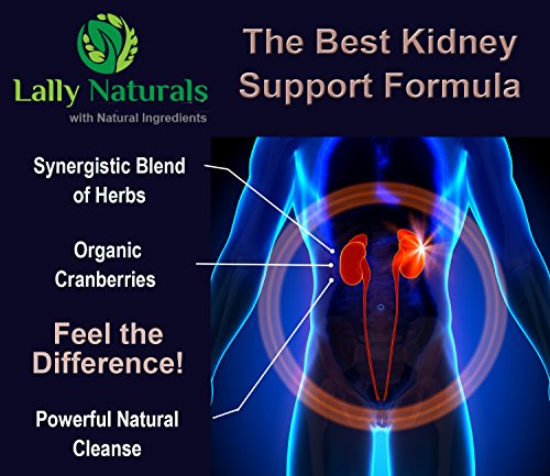 photo Wallpaper of Lally Naturals-Kidney Support, Cleanse & Detox Supplement With Organic Cranberry   60 Vegan-