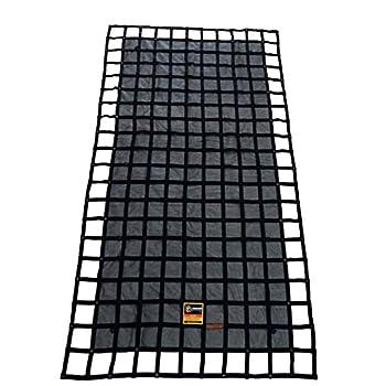 Image of Cargo Nets Gladiator Trailer Cargo Net - Heavy Duty Trailer Cargo Net - (MUT-100) - 7.3' x 13.3' (for 6x12 ft Trailers)