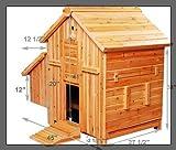 Pawhut Deluxe Chicken Coop Hen House