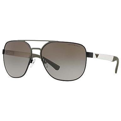 Amazon.com: Gafas de sol Emporio Armani EA 2064 32258E mate ...