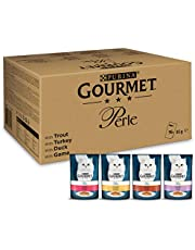 PURINA GOURMET Perle Nat Kattenvoer met Forel, Kalkoen, Eend, Wild, Mix (96 x 85g)