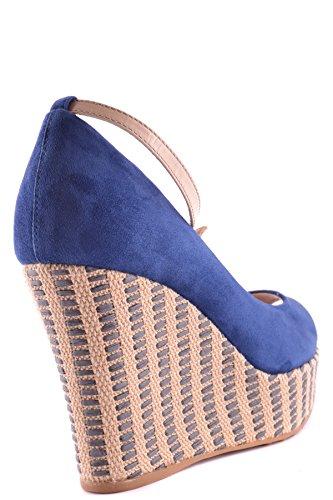 Tods Ladies Mcbi293071o Zeppe In Camoscio Blu