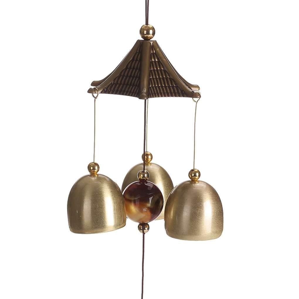 vkospy Elefante Wind Chimes Colgantes Suerte de Cobre del Viento-Campana al Aire Libre Patio Sala de Estar Interior del Ornamento