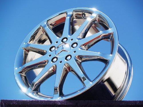 Mercedes-Benz R-class: Set of 4 genuine factory 18inch chrome wheels